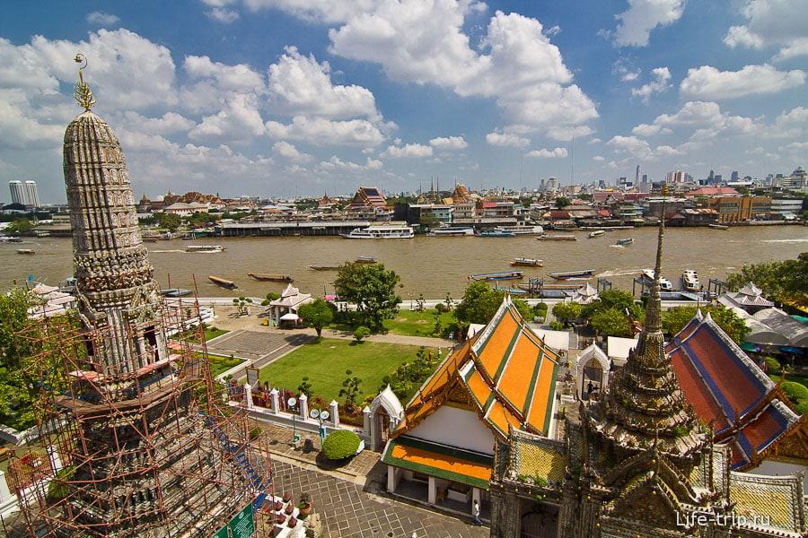Вид на Бангкок с высоты