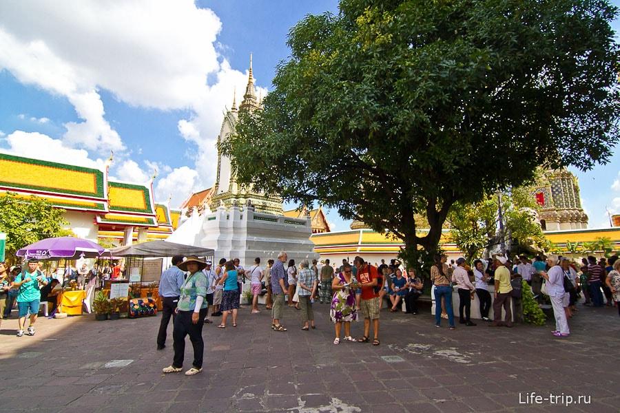 Площадь перед Ват Пхо