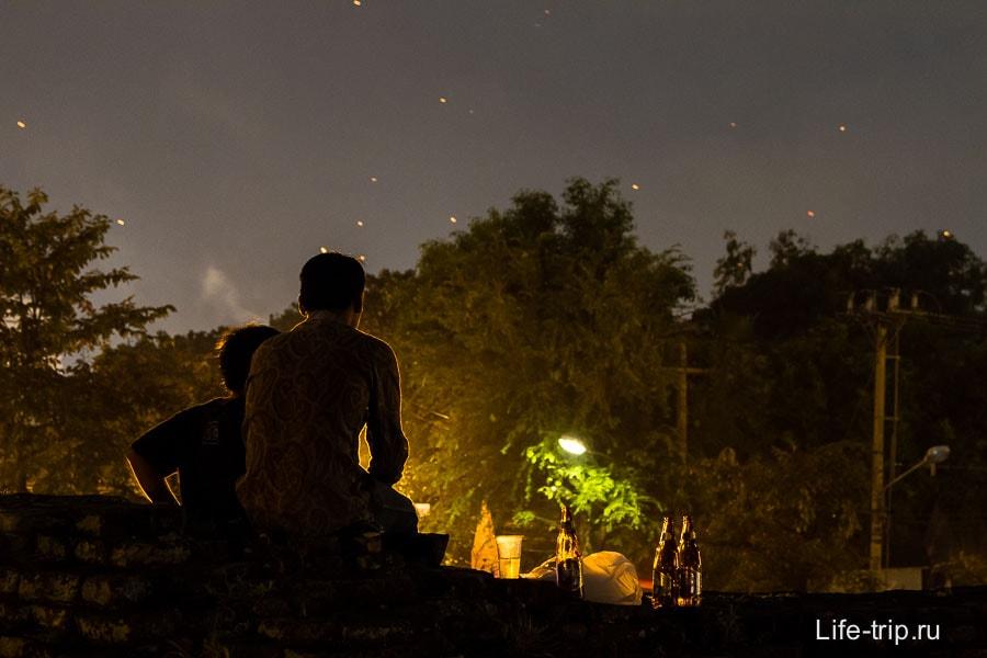 Вечерние романтические посиделки