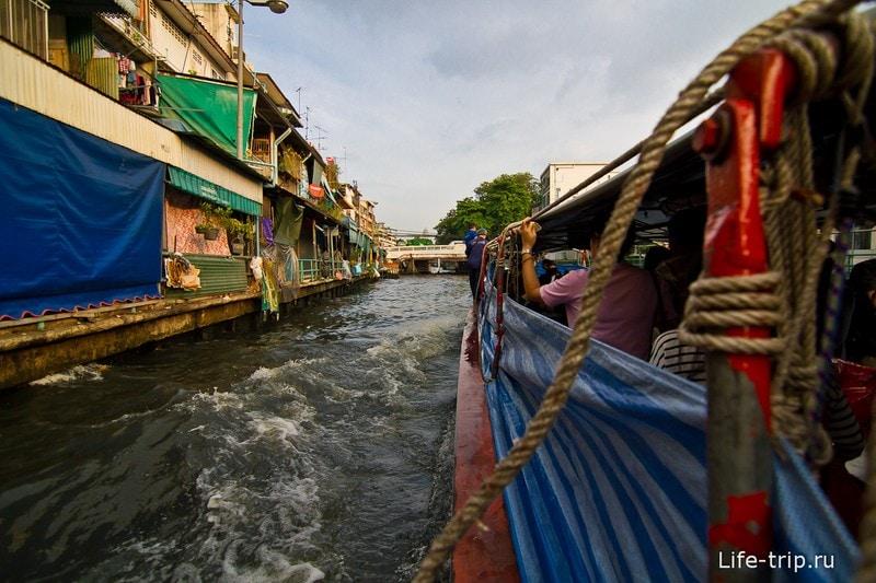 Плывем по речным каналам Бангкока