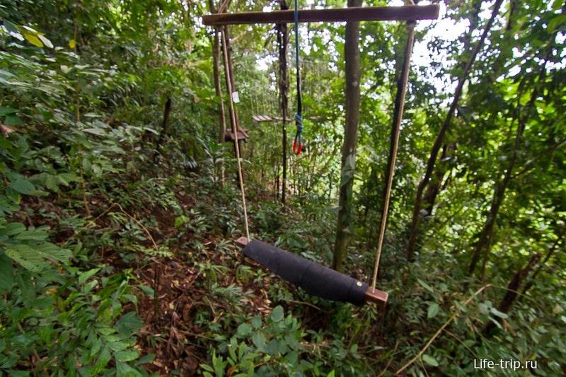 Веревочный парк Tree Top Adventure Park