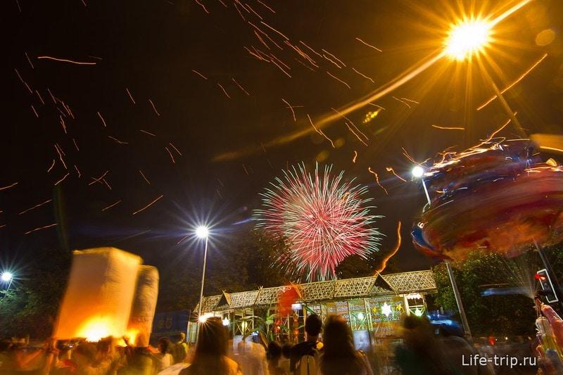 Лой Кратонг и Йипенг фестиваль (20)