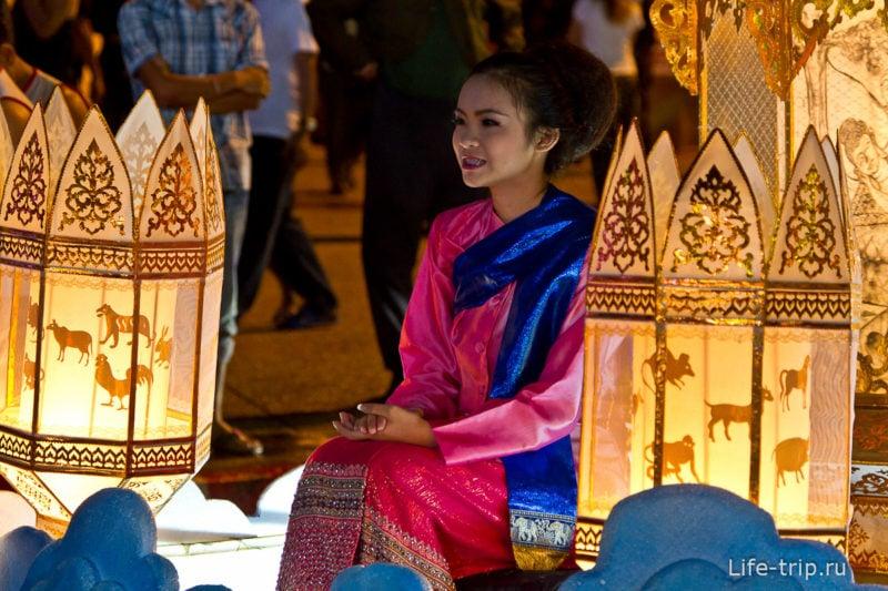 Лой Кратонг и Йипенг фестиваль (7)