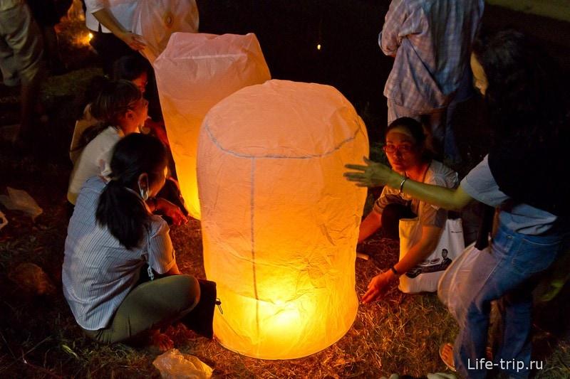 Лой Кратонг и Йипенг фестиваль (3)