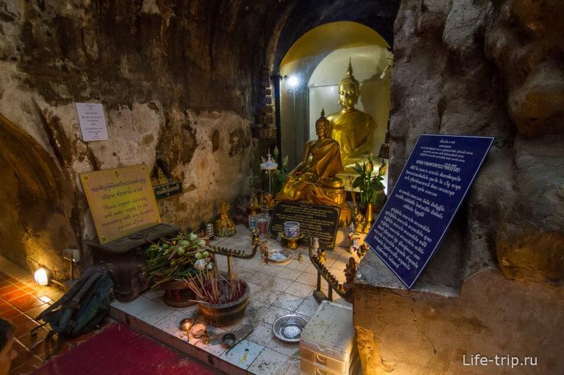 Туннельный храм Wat Umong (11)