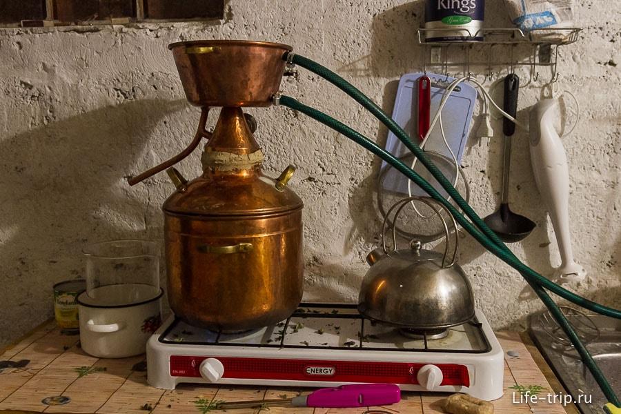 Иногда на кухне у нас стоит гидролат, запах прикольный получается