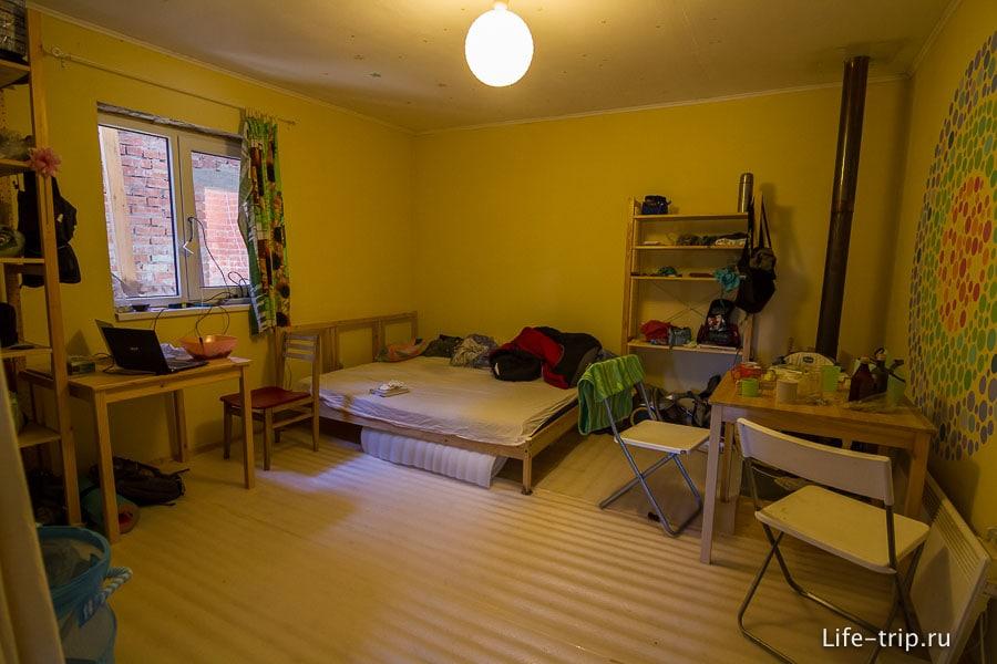 Наша комната в Береговом
