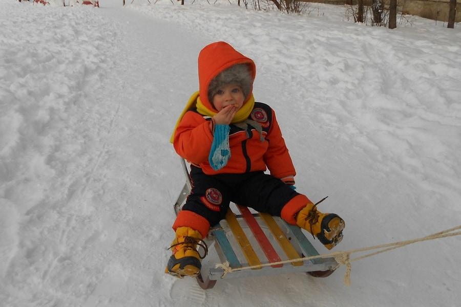 Зима на Дальнем Востоке России