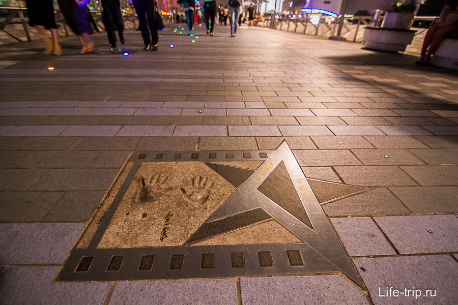 Аллея Звезд в Гонконге (8)
