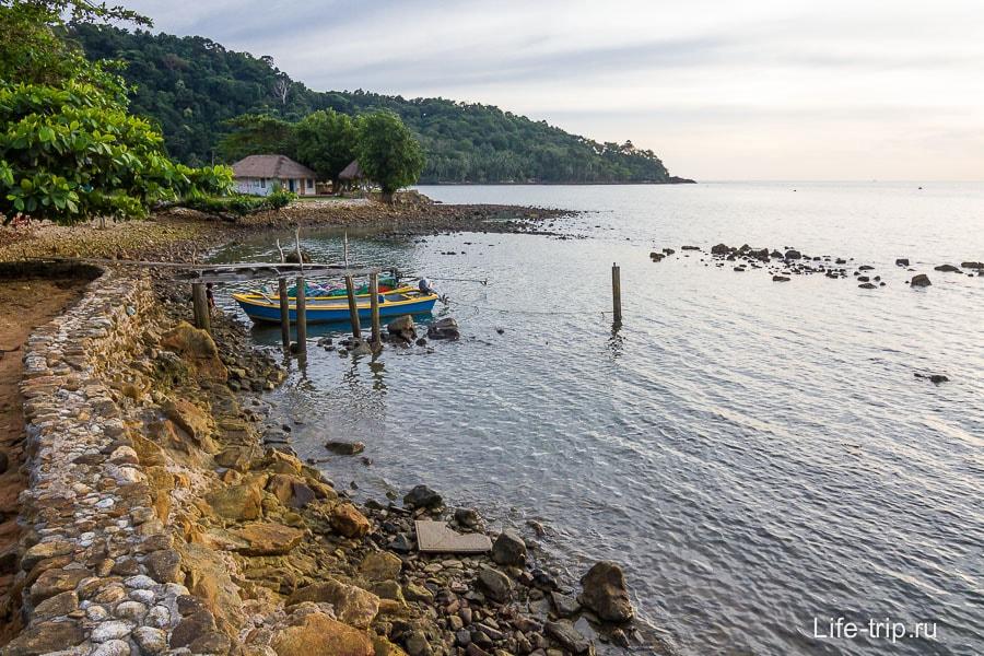 Bailan Bay сплошные камни