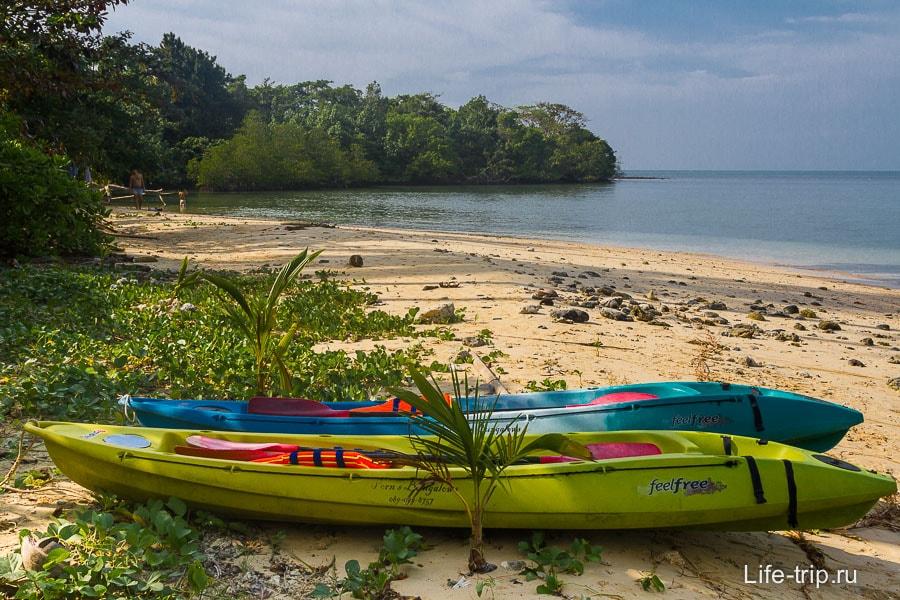 На каяке до острова Koh Man Nai