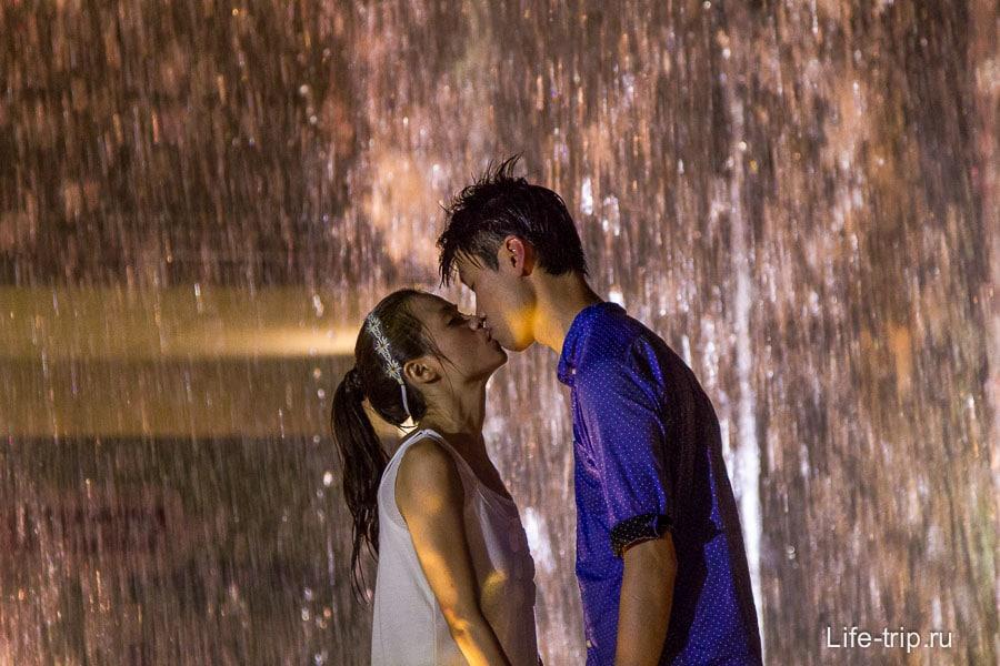 Романтичная лав-стори в Гонконге