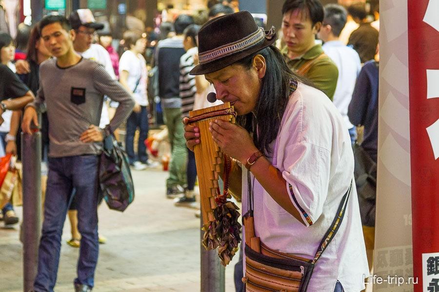 Музыканты местного Арбата