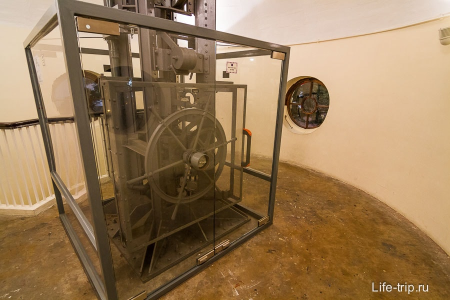 Механизм в Time Ball Tower