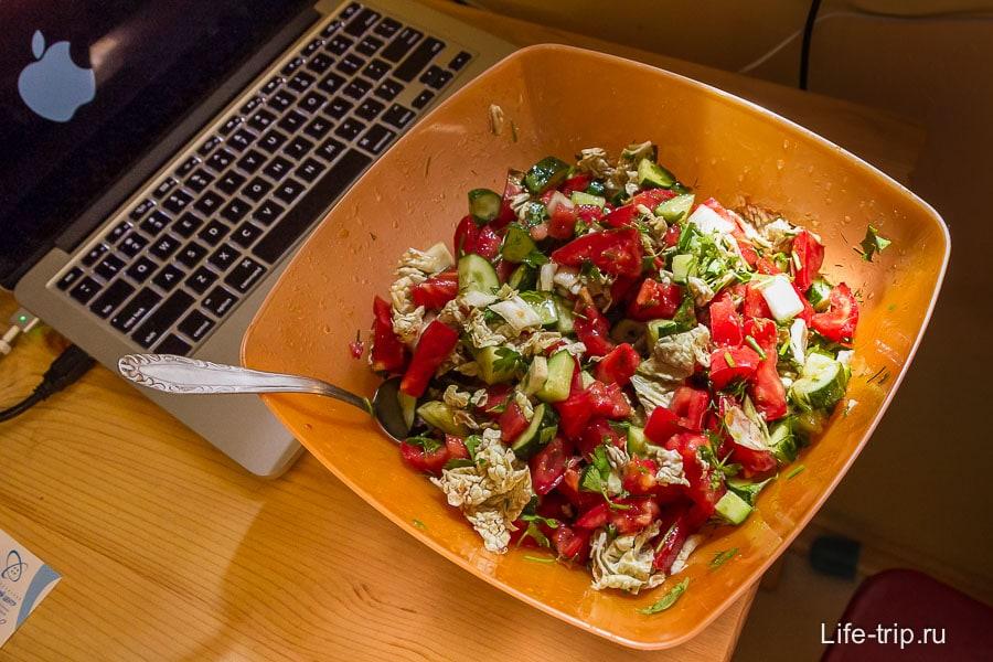 Я подсел на масло, в салате: тыквенное, льняное, горчичное