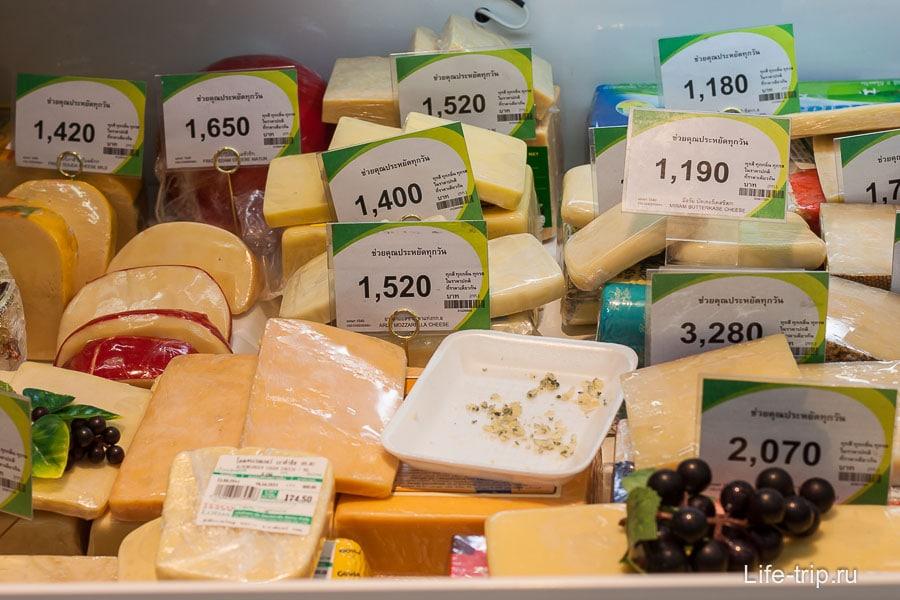 Сыр дороже, чем в России