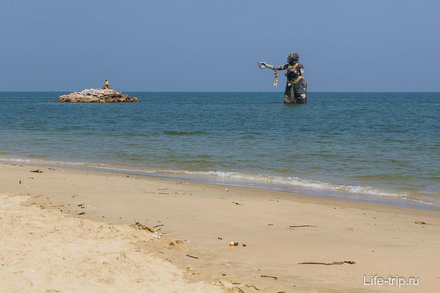 Пляж Puk Tien и Черная Бабища