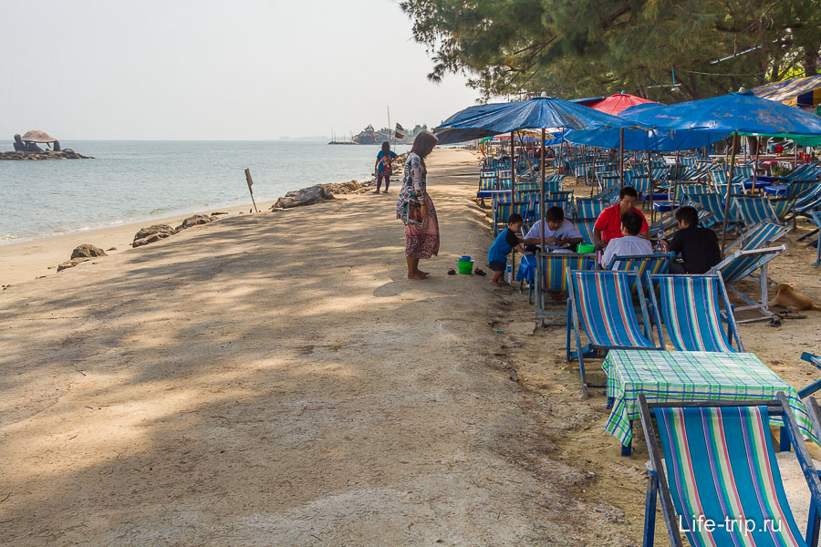 Пляж Puk Tien