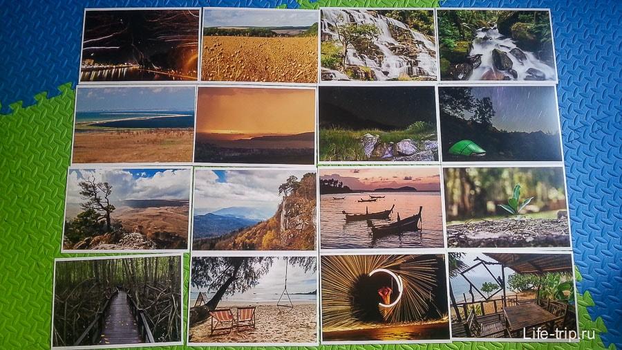 Распечатанные фотографии