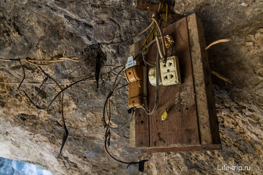 Немного древней цивилизации в пещере