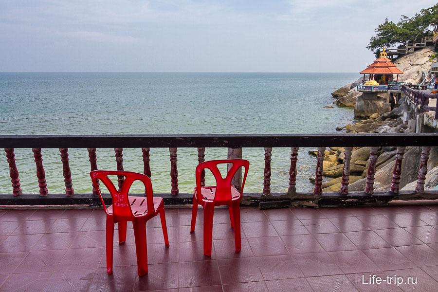 Место для отдыха с видом на Сиамский залив
