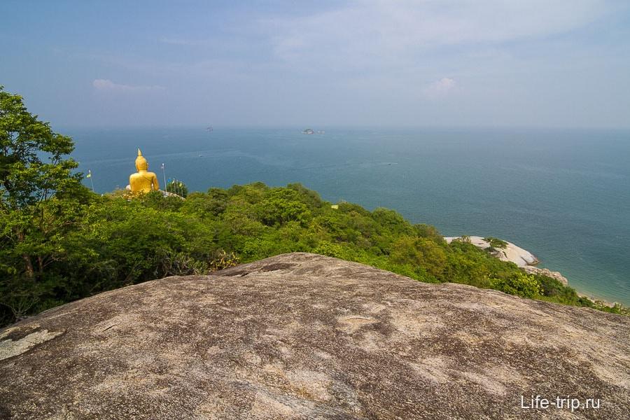 Большой Будда внизу