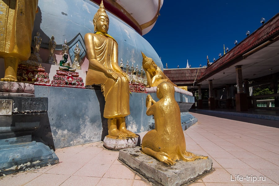 Вокруг Биг Будды другие фигуры
