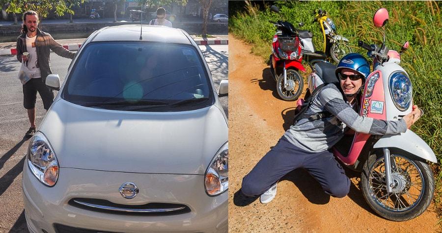 Что лучше машина или байк?