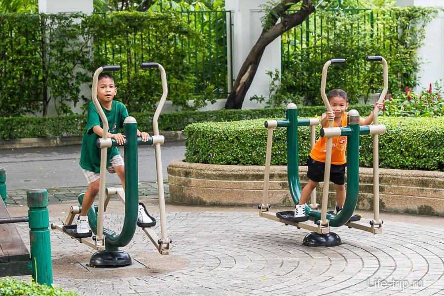 Тренажеры для детей и взрослых