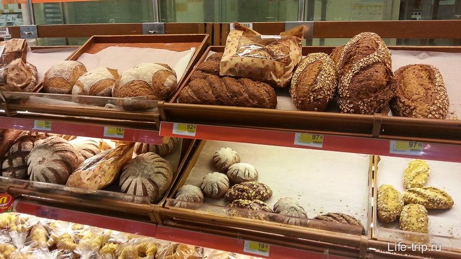 Почти черный хлеб