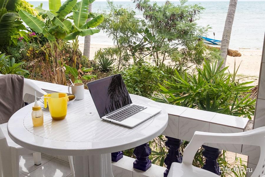 Рабочее место блоггера :)