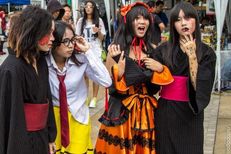Конкурс косплея в Бангкоке
