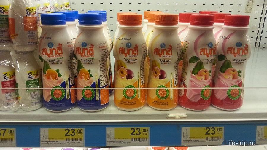 Питьевой йогурт - лучший из представленных, но все равно не то