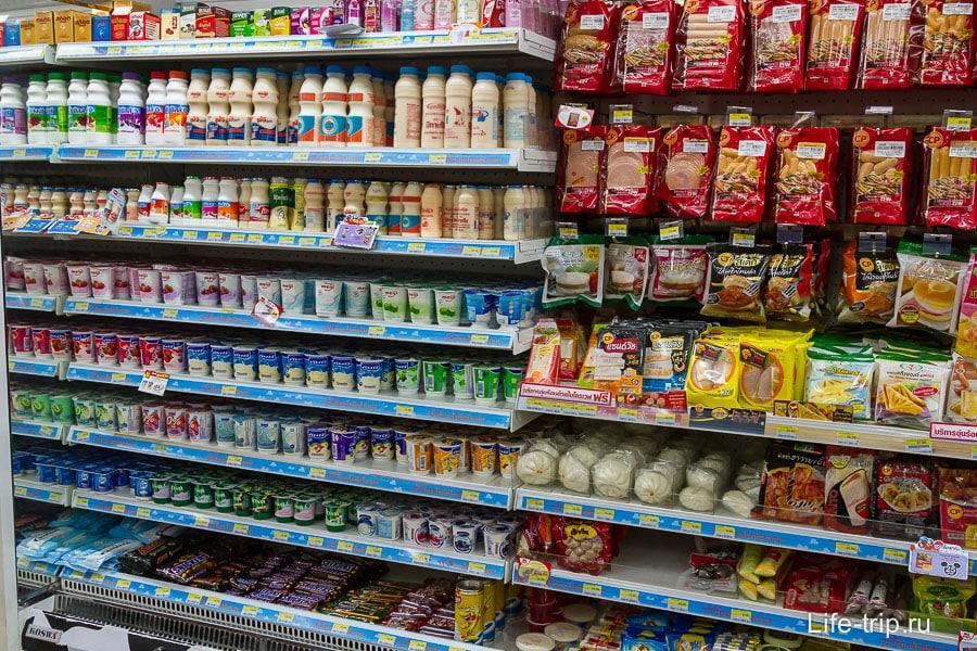 Молочная продукция и сосисочная