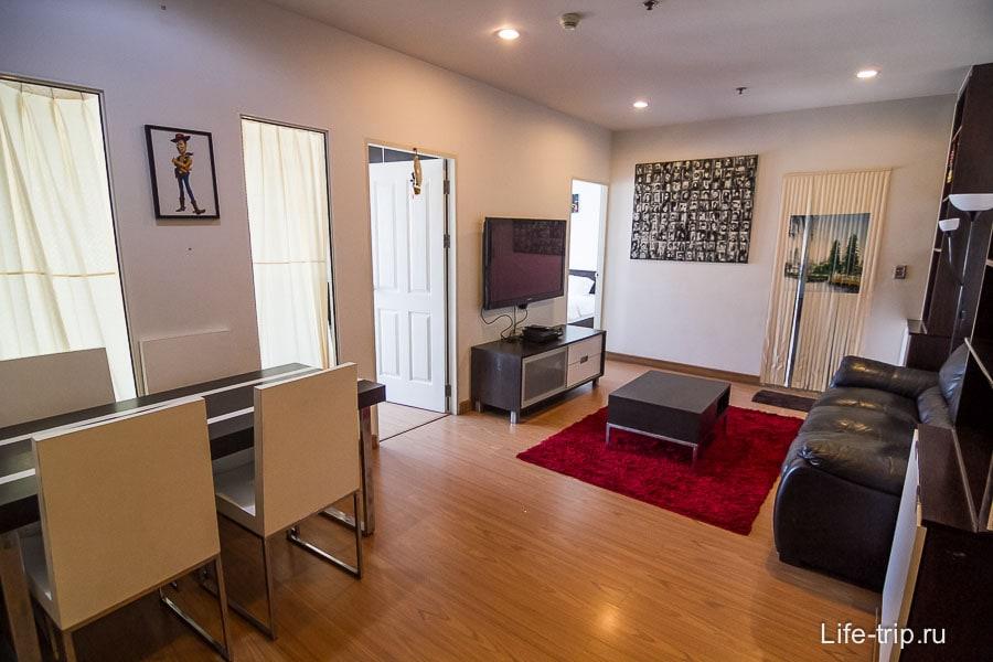 Наша квартира с двумя спальнями за 25000 бат