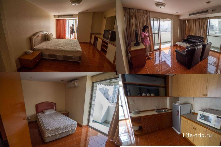 2-спальные апартаменты за 33000 бат, 80 м2