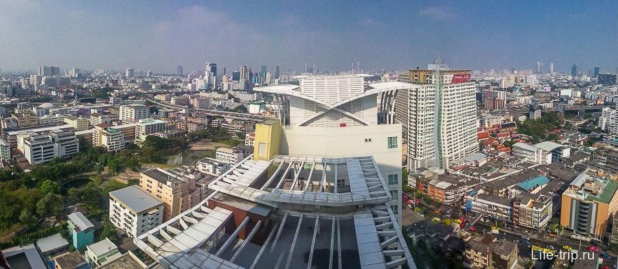 Вид на Бангкок с 29-го этажа
