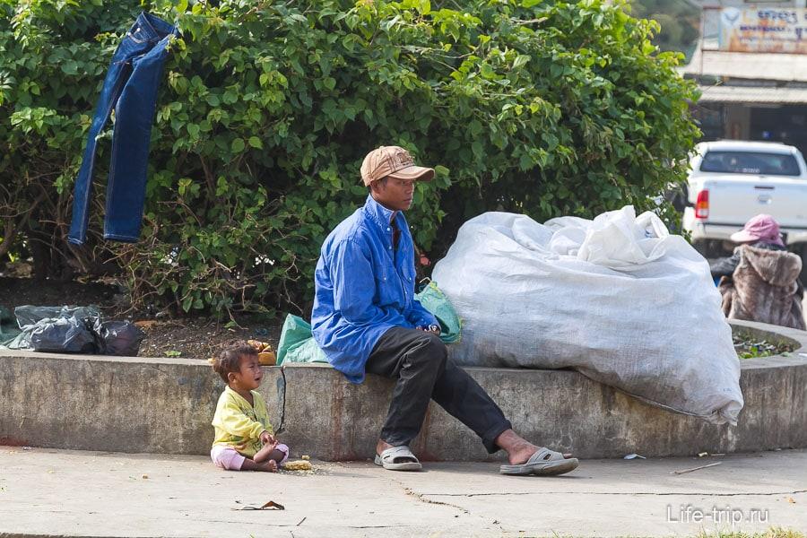 Камбоджа выглядит как-то совсем нищей