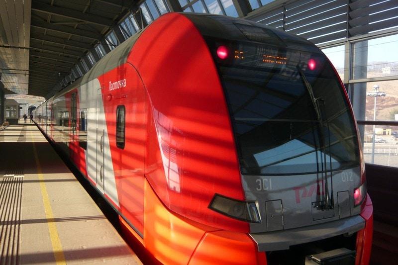 Новые, комфортабельные и тихие электрички пр-ва Siemens вдоль побережья по цене дешевле маршруток