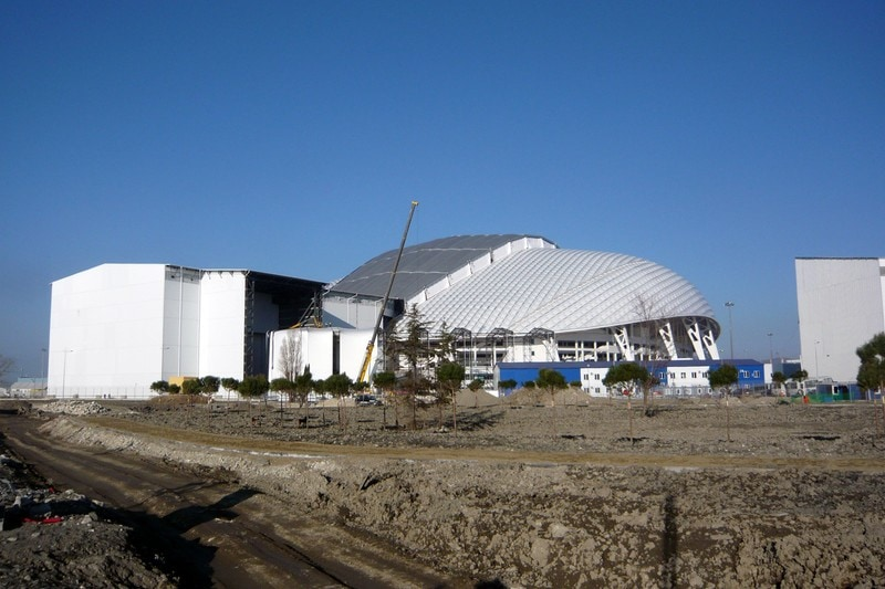Архитектурные шедевры Олимпийского парка