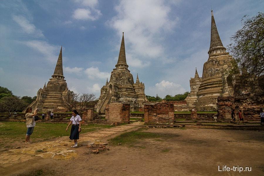 Wat Phra Si Sanphet - старые ступы