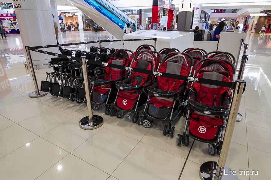 Коляски для детей и инвалидов на прокат