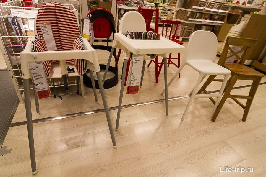 Дешевые детские стулья, которых не хватало на Самуи