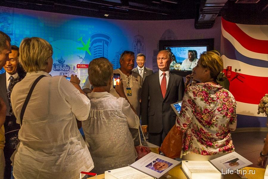 Путин самая популярная фигура у русских туристов