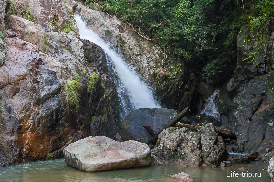 Бонус - еще один маленький водопад