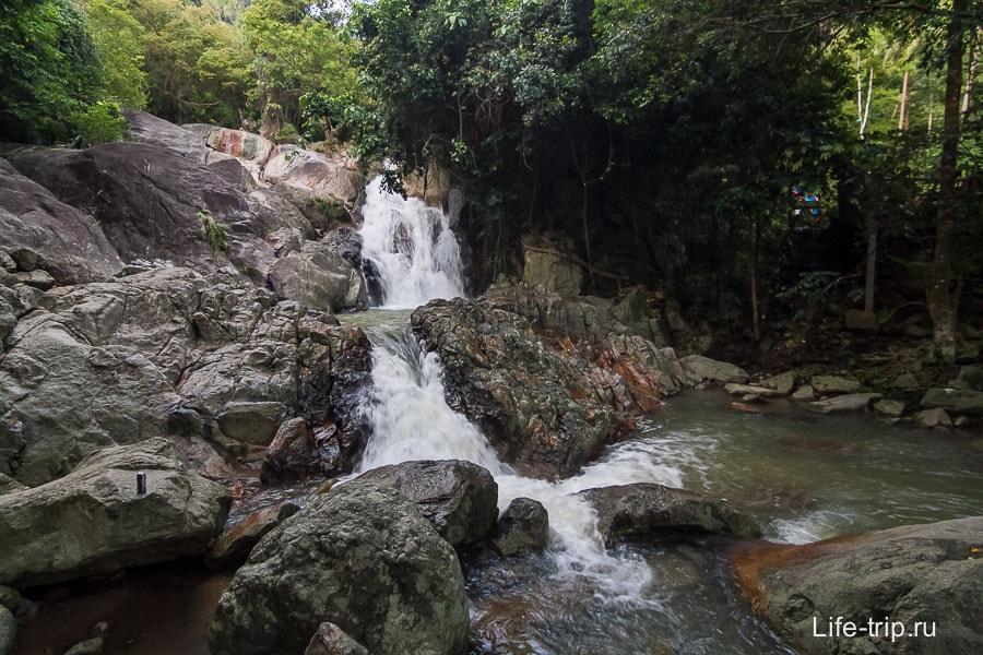 Перекаты по дороге к водопаду