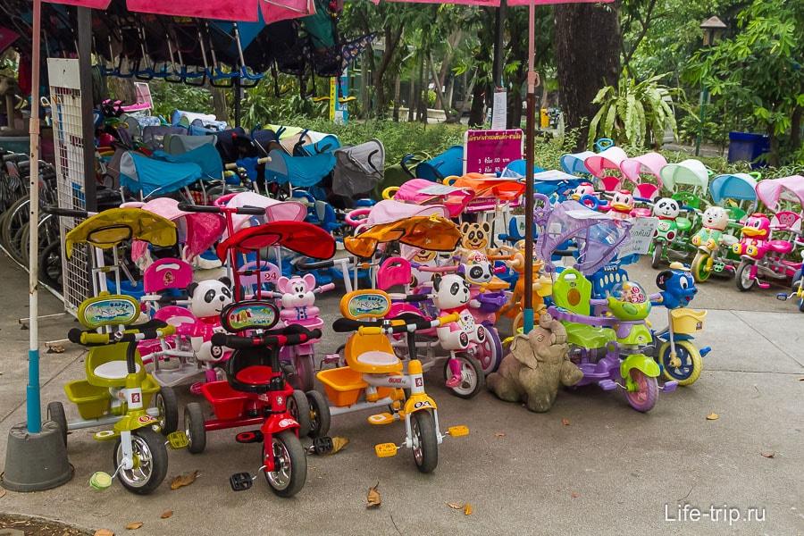 Детские коляски напрокат