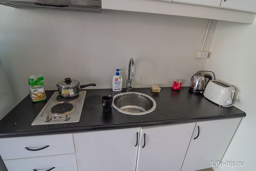На кухне все необходимое