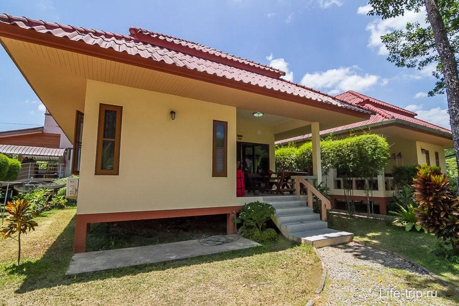 Наш дом в Ао Нанге в Краби
