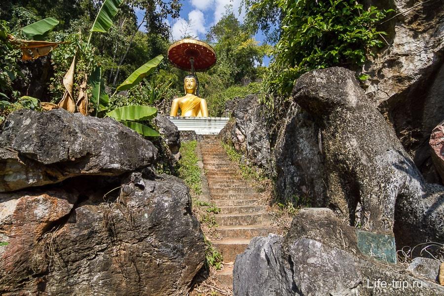 Будда затерялся в камнях